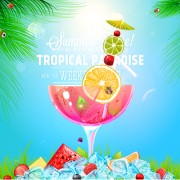 Link toCreative summer holidays vector backgrounds 03