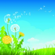 Link toSummer blue sky backgrounds vector 04