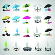 Link toSummer vacation icons vector set 04