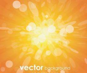 Yellow light dot backgrounds vector