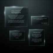 Link toTransparent glass shapes backgrounds 01