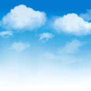 Link toVector blue sky design elements 04