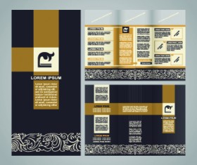 Business brochure Creative vector 01