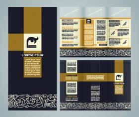 Business brochure Creative vector 01