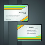 Link toClassic business cards design vector 05