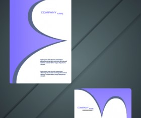 Cards and brochure design elements vector 02