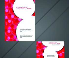 Cards and brochure design elements vector 05