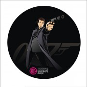 Link toElements of 007 movie characters vector
