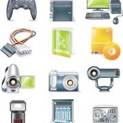 Link toDigital device icon vector