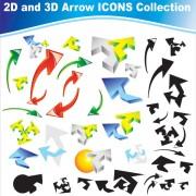 Link toDifferent arrow icon vector