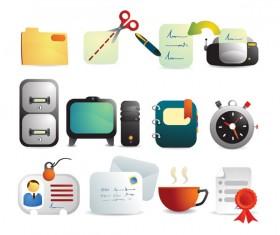 Office icon vector vector