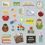 Link toSchool students icon vector