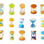 Link toAn hourglass icon vector vector