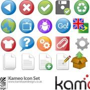 Link toKameo icon vector vector