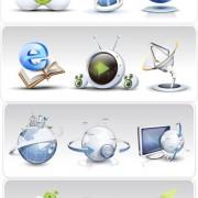 Link toNetwork icon vector