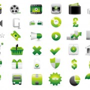 Link toShopping decoration icon vector