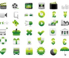 Shopping decoration Icon vector