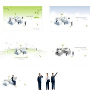 Link toBusiness people illustration vector