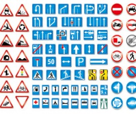 Public traffic Logo Icon vector