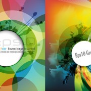 Link toAbstract arc background vector