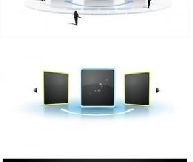 sense of space video frame vector