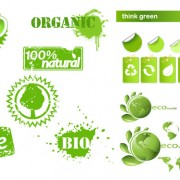 Link toEco creative icons vector