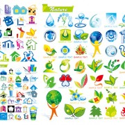 Link toAnd ecological house icon vector
