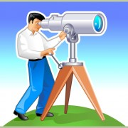 Link toElements of man with the telescope vector