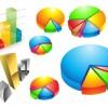 Practical statistics Icon vector