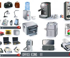 Business office Icon vector