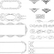 Link toSimple border decoration vector