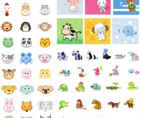 Animal icon vector set 02 vector