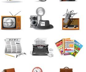 60 kind reporter Icon vector