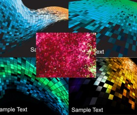 Mosaic background Vector graphic