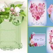 Link toElegant spring flowers vector