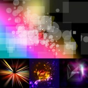 Link toColorful gorgeous background vector material