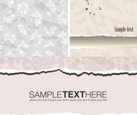Decorative pattern wallpaper background vector