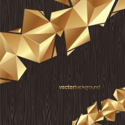 Link toElements of golden color of wood backgrounds vector graphic