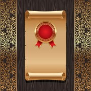 Link toElements of background paper board vector