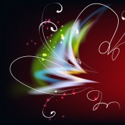 Link toLight with flowers backgrounds set 03
