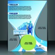 Link toBusiness flyer and brochure cover design vector 10
