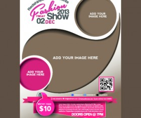 Business flyer and brochure cover design vector 15