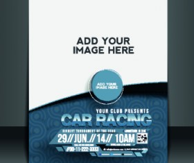 Business flyer and brochure cover design vector 17