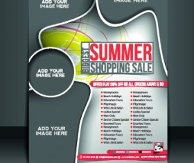 Business flyer and brochure cover design vector 19