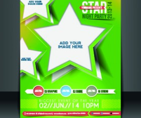 Business flyer and brochure cover design vector 21