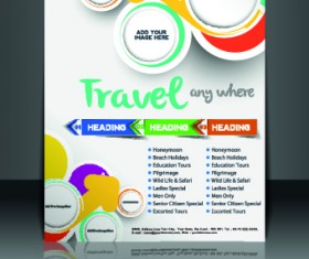 Business flyer and brochure cover design vector 22
