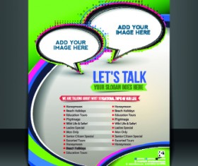 Business flyer and brochure cover design vector 25