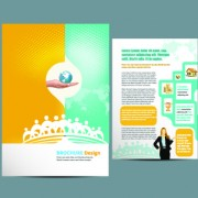 Link toBusiness flyer and brochure cover design vector 26