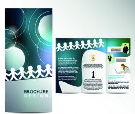 Business flyer and brochure cover design vector 28