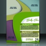 Link toBusiness flyer and brochure cover design vector 03